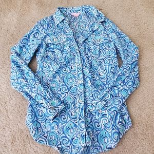 Lilly Pulitzer Button Up